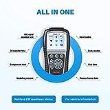 Autel obd2 Diagnosegerät ML619 mit volle OBD Funkotion (Fehlercode lesen/löschen,Echtzeit- und Spericherndaten anzeigen,Auto VIN,O2 Test usw) Diagnose für ABS und SRS - 3