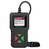 Ysding YA-201 OBD2 Diagnosegerät Enhanced Universal Auto Diagnosegerät Deutsch-Fehlercode-Auslesegerät für 16-Pin Alle OBDII Protokoll,Batterie Test