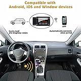 OBD2 Diagnosegerät, kungfuren [2018 AKTUALISIERT] Auto Wifi Diagnose OBD Stecker Kompatibel mit iOS, Android & Windows-Geräten verbindet Wireless für Autos - 2