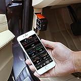 OBD2 Auto-Scanner, Tacklife AOBD1W Diagnose-Scanner mit OBDII, WiFi-Scanner und PIC18F2480 Chip für Android und iOS, 3000 Code-Datenbank, Fehlerspeicher lesen und löschen, geeignet für meisten Autos - 7