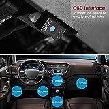 INTEY OBD 2  Diagnose-Interfaces für Android/OBD und OBD 2 Bluetooth Scanner/OBD und OBD-2 Bluetooth Adapter Unterstützte Fahrzeuge Benzin PKWs mit OBD 2 Protokolle ab 2001 - 3