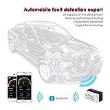 INTEY OBD 2  Diagnose-Interfaces für Android/OBD und OBD 2 Bluetooth Scanner/OBD und OBD-2 Bluetooth Adapter Unterstützte Fahrzeuge Benzin PKWs mit OBD 2 Protokolle ab 2001 - 4