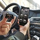 Vgate iCar 2 Bluetooth EOBD OBDII OBD 2 KFZ Auto Interface Diagnose Android (Schwarz – Schwarz) - 5