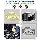 kungfuren OBD2 Diagnosegerät, WiFi OBD2 WLAN Diagnose Scanner für iOS iPhone Android Windows Torque EOBD OBDII für Auto Car PKW KFZ CAN Bus Interface Code Leser Fehlerspeicher lesen und löschen - 8