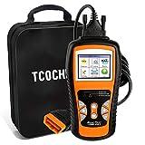 OBD2 Auto Diagnosegerät,4.7 'LCD OBD2 Scanner,professionelle Kfz-Diagnose-Tool(Unterstützt alle 12V Benzin Fahrzeuge ab 1996) Auto-Codeleser zum Überprüfen und Löschen von Fehlercode