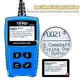 OBD2 Diagnosegerät Auto Diagnosewerkzeuge Tvird Universal Diagnose Scanner für alle Fahrzeuge ab 2000 mit OBD II Protokolle/standardem 16-pin OBD-II Schnittstelle/Batterietest EOBD Code Reader - 5
