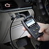 JDiag OBD2 Auto Diagnosegerät OBD II Code Scanner EOBD für alle Fahrzeug ab 2000 mit OBD II Protokolle, mit standard 16-pin OBD-II Schnittstelle für Lesen und Löschen von Fehlercodes,Batterietest - 5