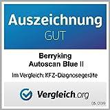 BerryKing Autoscan Blue 2019 OBD2 Mini Diagnose-Gerät Torque Auto Car PKW KFZ OBD 2 Bluetooth Fehler-Speicher Lesen und Löschen - 2