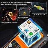 NEXPEAK OBD2 Diagnosegerät, OBDII NX501 KFZ-Fehlercode-Lesegerät Motorlichtscangerät für die meisten OBD2 Protokoll Fahrzeuge seit 2003 - 2