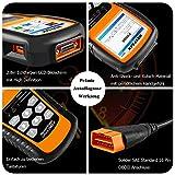 NEXPEAK OBD2 Diagnosegerät, OBDII NX501 KFZ-Fehlercode-Lesegerät Motorlichtscangerät für die meisten OBD2 Protokoll Fahrzeuge seit 2003 - 6