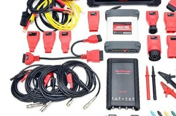 HIGH-END 3er-SET Autel MS908 PRO OBD2 Diagnosegerät + Oszilloskop + Endoskop NEU